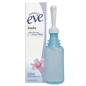 SUMMER'S EVE DOUCHE EXTRA CLEANSING VINEGAR&WATER