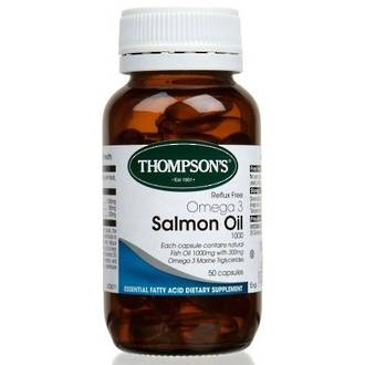 THOMPSON'S SALMON OIL 1000 50 CAPSULES