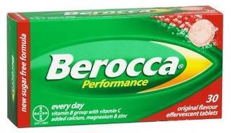 BEROCCA PERFORMANCE EFFERVESCENT ORIGINAL 30 TABS