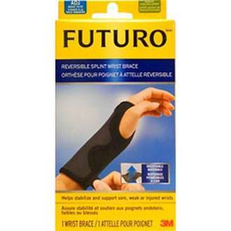 FUTURO REVERSIBLE SPLINT WRIST BRACE - ADJUSTABLE