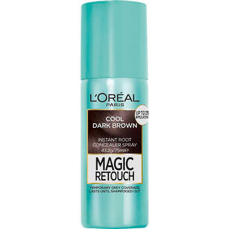 L'OREAL MAGIC RETOUCH ROOT CONC SPRAY COOL DARK BROWN