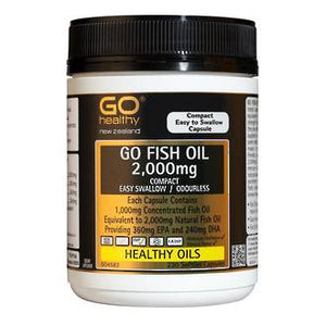 GO HEALTHY FISH OIL 2000MG 230 SOFTGEL CAP