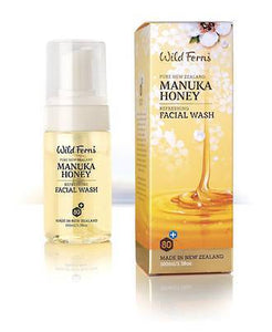 Wild Ferns Manuka Honey Refreshing Facial Wash 100ml