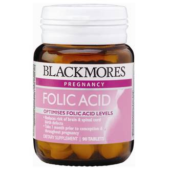 BLACKMORES FOLIC ACID 500MCG 90 TABLETS