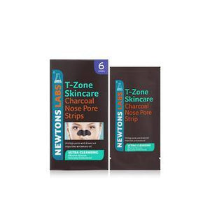 T-ZONE CHARCOAL NOSE PORE STRIPS (6) - NEW