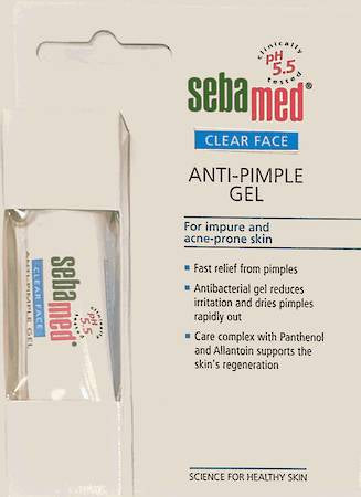 SEBAMED CLEAR FACE ANTI-PIMPLE GEL 10ML