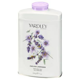 YARDLEY  LAVENDER PERFUMED TALC 200G