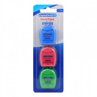 CAREDENT PERIOTAPE MINI FLOSS 3X 15M