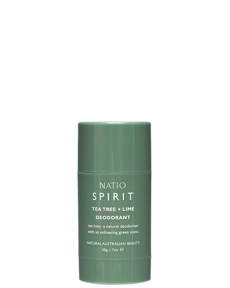 Spirit Tea Tree + Lime Deodorant 50G