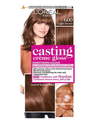 L'OREAL PARIS CASTING CREME GLOSS 600 LIGHT BROWN