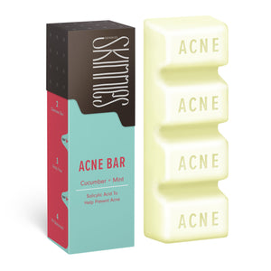 Skinnies Acne Bar Cucumber & Mint