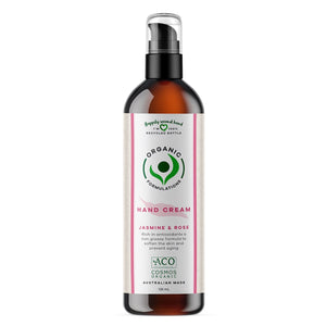 Organic Formulations Jasmine & Rose Hand Cream