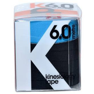 D3 KINESIOLOGY TAPE TWIN PACK-BLACK&ELECTRIC BLUE