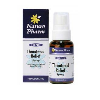NATURO PHARM THROATMED RELIEF SPRAY 25ML