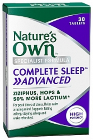 Nature's Own Complete Sleep Advanced Capsules 30