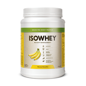 ISOWHEY WEIGHT LOSS SHAKE BANANA SMOOTHIE