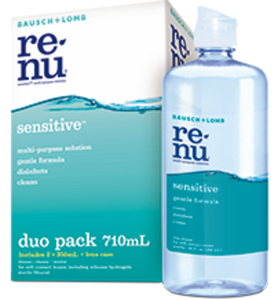 Bausch & Lomb Renu SENSITIVE Multi purpose Duo Pack