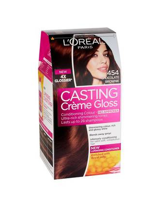 L'OREAL CASTING CREME GLOSS 454 CHOCOLATE BROWNIE