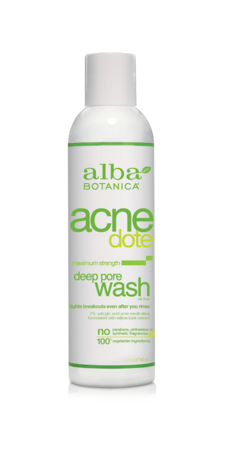 Alba Botanica Deep Pore Wash, 177ml