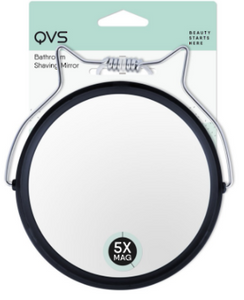 QVS BATHROOM SHAVING MIRROR 5X