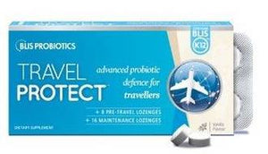 BLIS TravelProtect with BLIS K12? - Vanilla 30 Lozenges