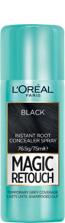 L'OREAL MAGIC RETOUCH ROOT CONCEALER SPRAY-BLACK