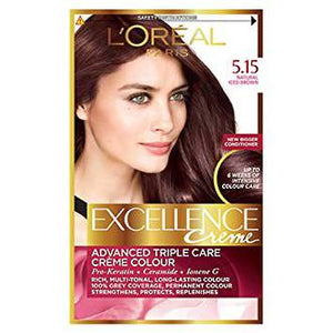 L'OREAL EXCELLENCE CREME 5.15NATURAL FROSTED BROWN