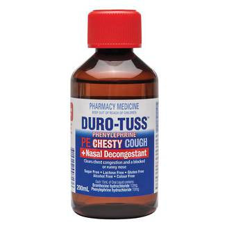 Duro-Tuss PE CHESTY Cough+NASAL DECONGESTANT Syrup
