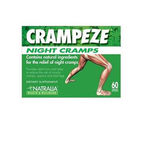 CRAMPEZE NIGHT CRAMPS 60 TABLETS