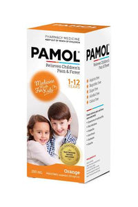 Pamol Orange Children's Pain & Fever Liquid 200ml