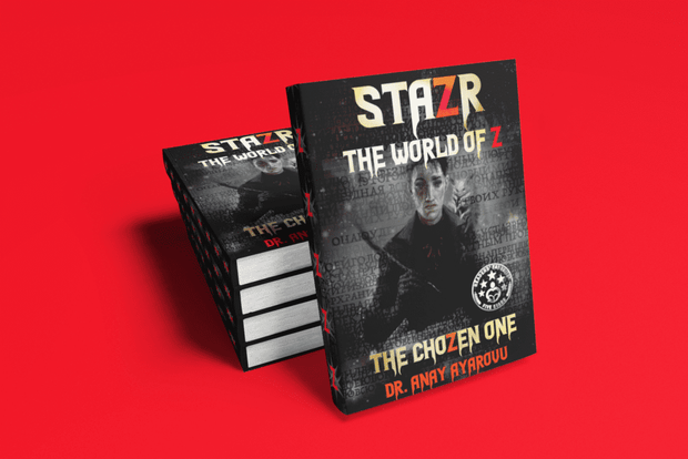 STAZR The World Of Z by Dr. Anay Ayarovu The ChoZen One Hardcover Special 'Bite-Size' Edition