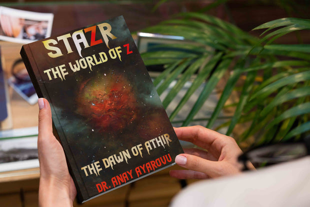 STAZR The World Of Z by Dr. Anay Ayarovu The Dawn Of Athir Hardcover
