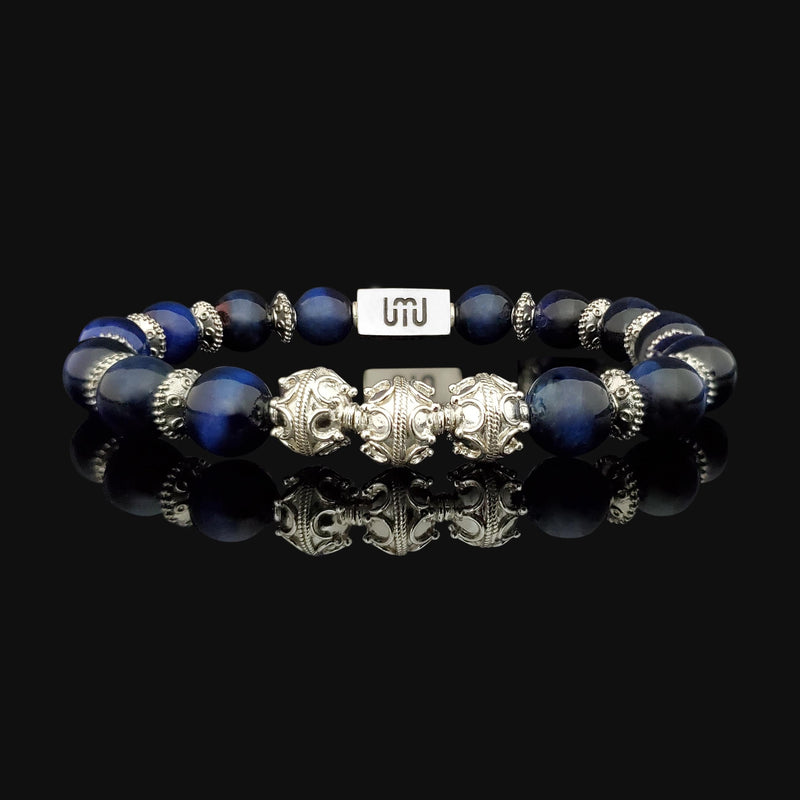 Labradorite & Gold Elite Men's Bracelet