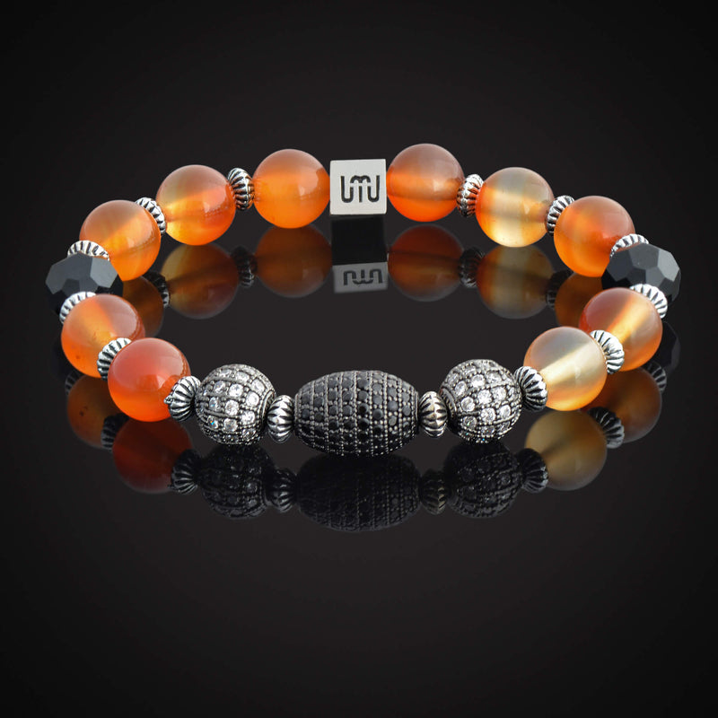 Agate & Tiger's Eye Bracelet