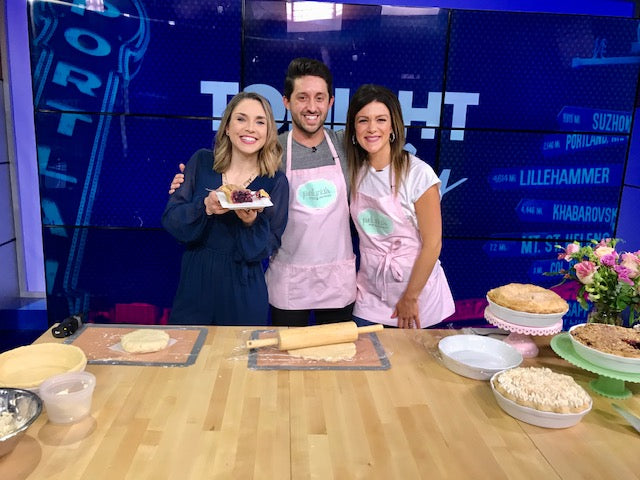 Watch Lisa & Jacob celebrate National Gluten Free Day on Live with Cassidy!