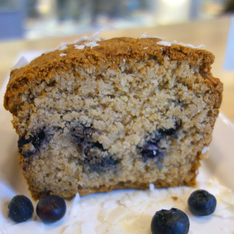 Coconut Lemon Blueberry Poundcake