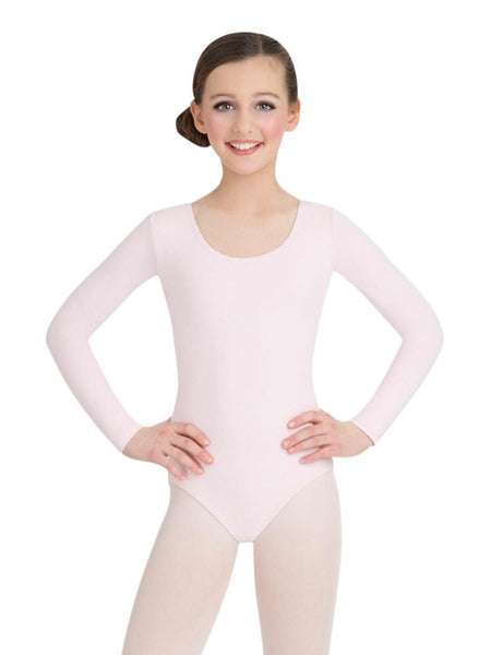 Long Sleeved Nylon Leotard