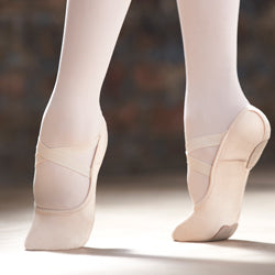 Adult Stretch Canvas Split Sole Capezio Hanami Ballet Shoe