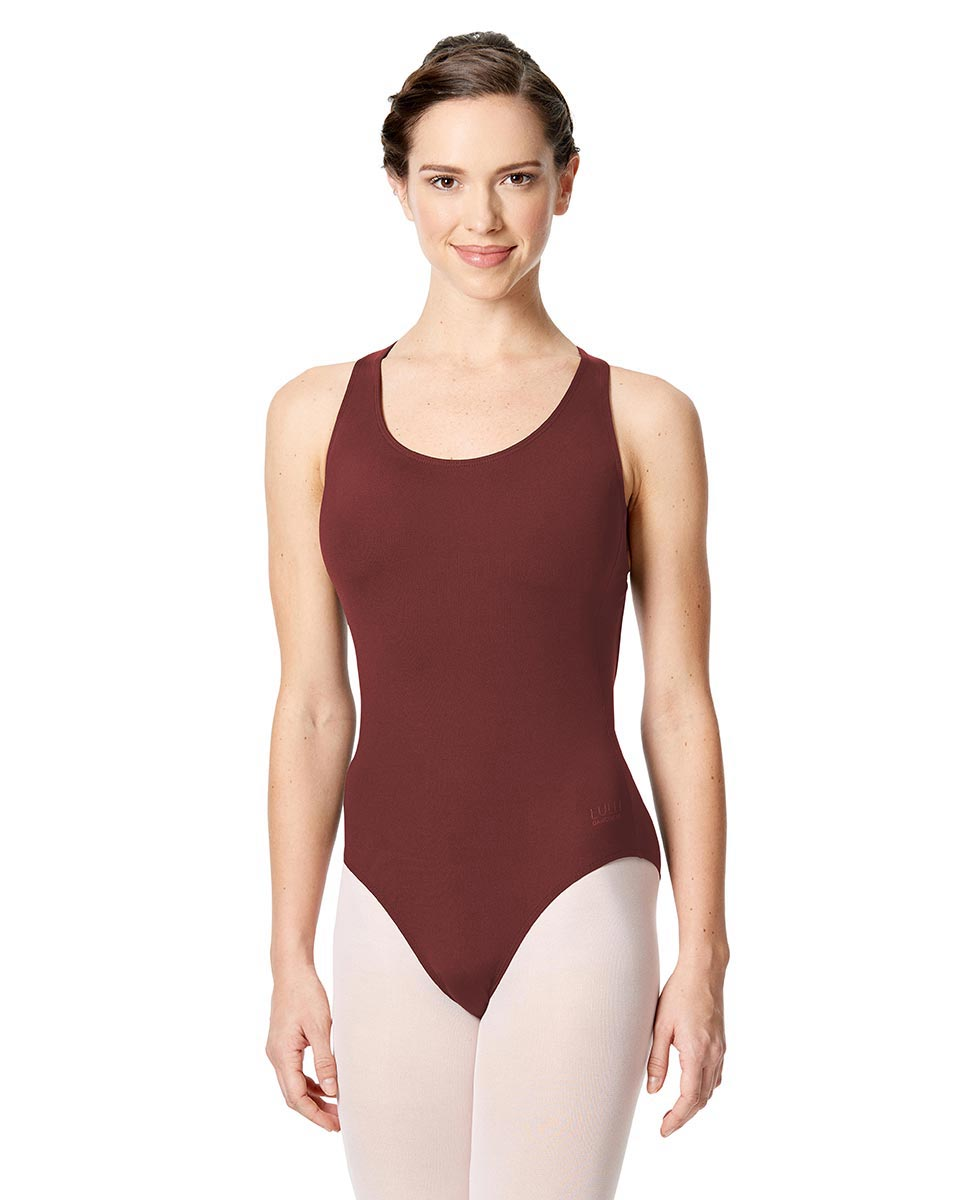 Strappy Back Halter Neck Leotard