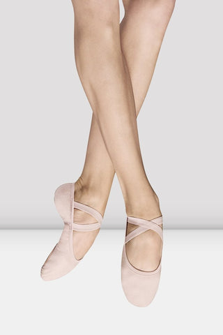 Children's Stretch Canvas Split Sole Ballet Shoes