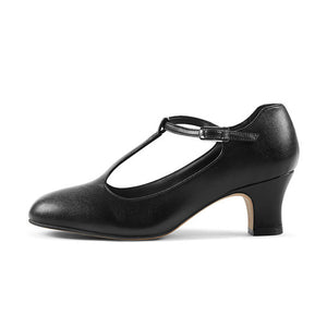"Bloch Chord 2"" T-strap Character Shoe"