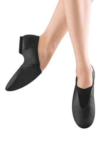 Adult Bloch Super Jazz in Black or Tan Leather Split Sole Jazz Shoe