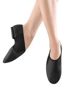 Adult  Neo Flex Slip on Black or Tan leather Jazz Shoe