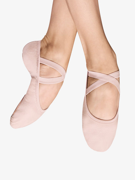 Stretch Canvas Split Sole Bloch Performa Ballet Shoe