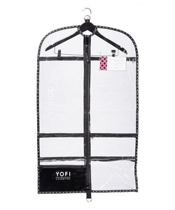 Yofi Clear Garment Bag with Hanger