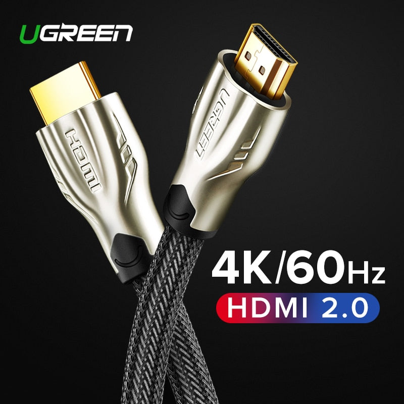 HDMI Cable 4K HDMI to HDMI 2.0 Cable Cord for PS4 Apple TV 4K