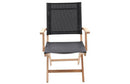 Nantucket Bay Sling Dining Arm Chair