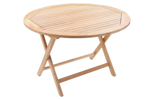 Nantucket Bay Round Folding Table 45""