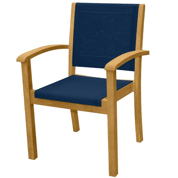Riviera Stacking Sling Armchair