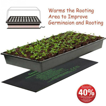 Garden Plant Seedling Heating Mat 3Size Hydroponic Seed Germination Grow Electric Blanket Starter Pad Garden Supplies